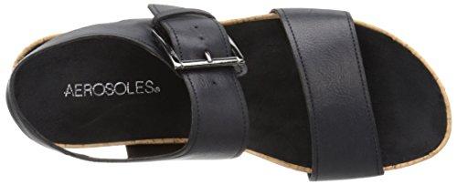 Aerosoles Compass Synthétique Sandale Black