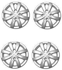 "ACL Silver Wheel Cap 12"" Set of 4 for Hyundai Eon"