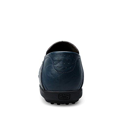 Minitoo LHUS-LH8008B, Mocassins Pour Homme noir foncé