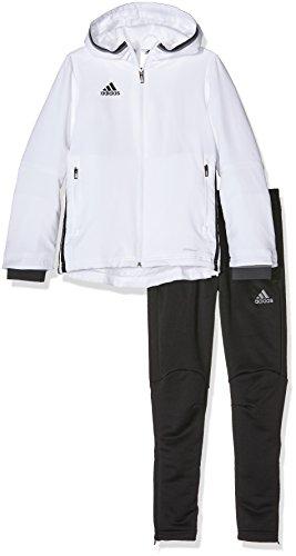 adidas Kinder Sportanzug Präsentationsanzug Condivo 16, White/Black, 164, S93526