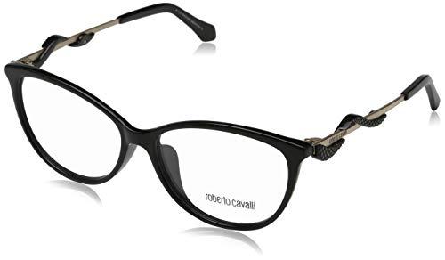 Roberto Cavalli Damen RC5007-F 001-55-14-140 Brillengestelle, Schwarz, 55