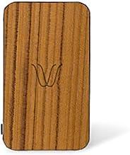 WOODIE Milano | Wireless Power Bank | Batteria Wireless Portatile con magneti+Porta USB | per iPhone X,8, Sams