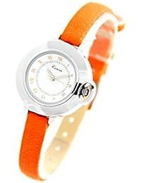 Eyki Femme MONTRE1159 - Reloj , correa de cuero color naranja