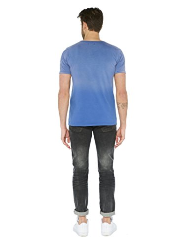 Colorado Denim Herren T-Shirts Jaden Blau (indigo Blue 6079)