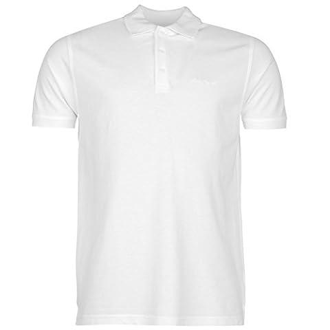 Pierre Cardin Herren Einfarbig Polo Poloshirt T Shirt Kurzarm Kragen Tee Top L