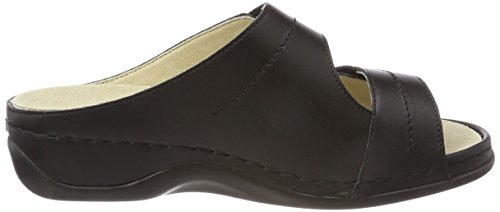 Berkemann Ladies Fedora (lavabile) Mules Black (nero)