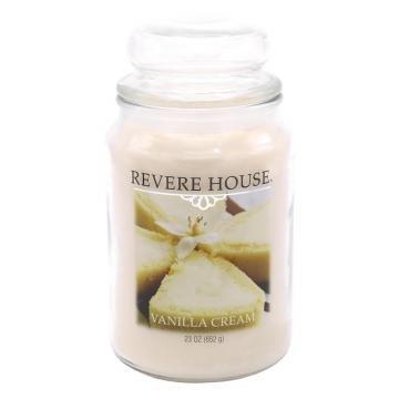 USA Duftkerze - Revere House Candle-Lite - Vanilla Cream - 652g