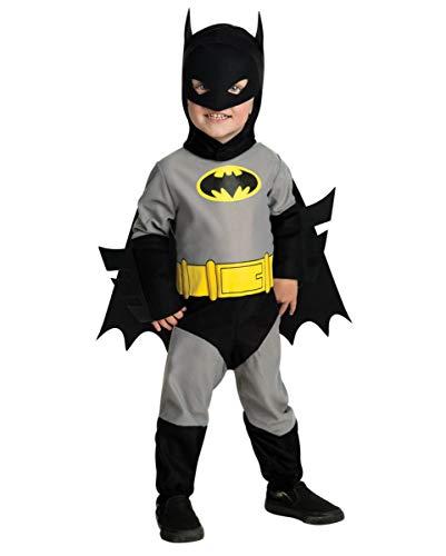 Horror-Shop Lizenziertes Batman Kleinkinderkostüm One Size (Batman Kostüm Kleinkind)
