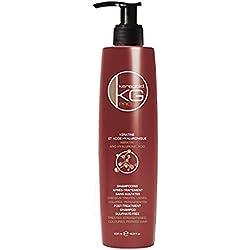 KERAGOLD PRO DD Shampoing sans Sulfate à la Kératine/Acide Hyaluronique 500 ml - Lot de 2