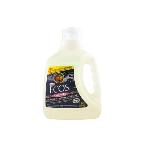 earth-friendly-ecos-hypoallergenic-laundry-detergent-with-built-in-fabric-softeners-lavender-100-oz