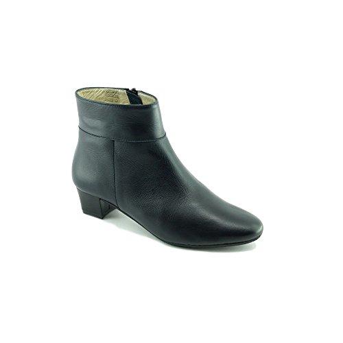 Escarpins d Hotesses Malaga Alarm Free Boots Marine Bout Rond en Amande -  Petites et 8a0a73bce04f
