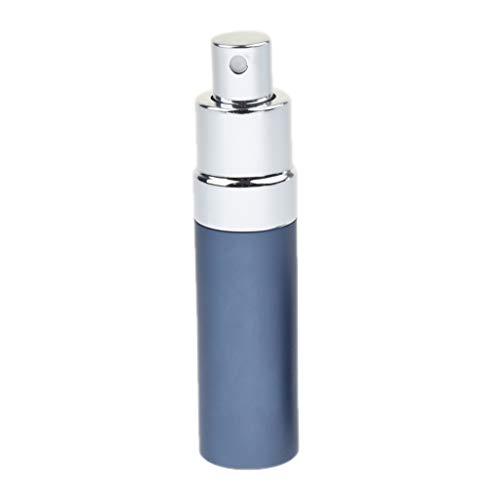 Sharplace Parfümzerstäuber Zerstäuber, nachfüllbar Leer Sprühflasche 20ml, Reise tragbare Metall Parfümflasche - Blau