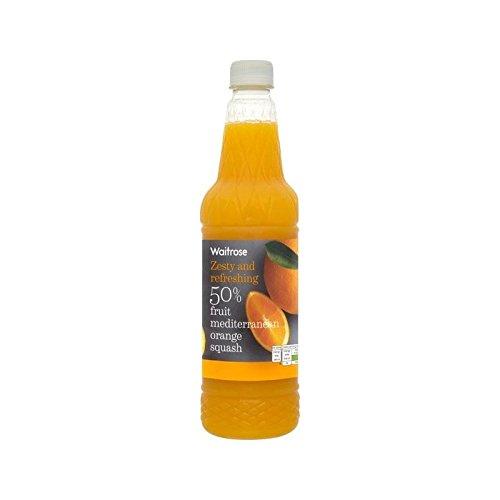 Waitrose High Juice 50% Orange Juice Squash 1L