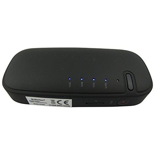 sellgal-tec  Digitales Diktiergerät, Audio-Wanze, Abhörgerät, versteckt in Einer Power-Bank. Bis zu 7 Tage Standby, geräuschaktiviert V3.0, 32GB Speicher