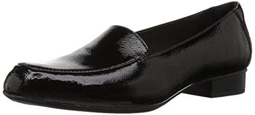 Clarks Damen Juliet Lora Black Patent Leather 39.5 EU W 1 Black Patent Schuhe