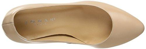 JONAK - 11393, Scarpe col tacco Donna Beige (Beige (nudo))