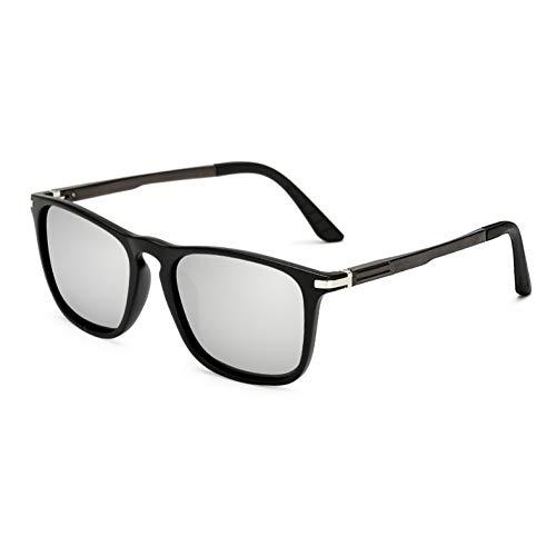 WZYMNTYJ Klassische Marke Sonnenbrille Männer Luxus Polarisierte Sonnenbrille Beschichtung Spiegel Objektiv Unisex Eyewears Männliche Fahrschatten