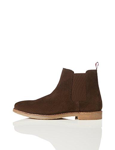 find. Herren Chelsea Boots, Braun (Brown), 42 EU -