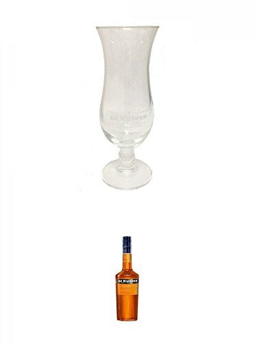 De Kuyper Cocktailglas 1 Stück + De Kuyper Apricot Brandy Likör 0,7 Liter