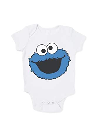 Cookie Monster Funny Baby Grow Gift Baby Shower Humour