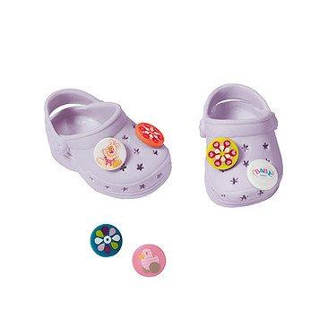 Preisvergleich Produktbild Baby Born Pin Schuhe - Lila (Sortimentsartikel)