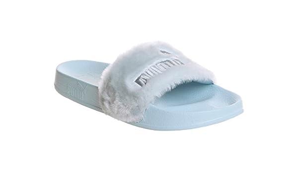 Puma x Fenty Rihanna Fur Slide Cool Blue 365772 03 EU 42