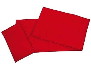 Beleduc 24407 - Juego de sábanas con 3 Piezas, Color Rojo