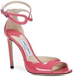 Jimmy Choo Mujer LANE100PTFLAMINGO Rosa Cuero Zapatos Altos