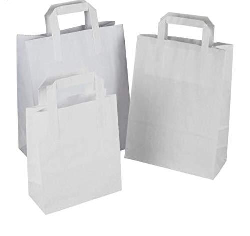 Packitsafe Bolsas papel blancas SOS manejadas. Bolsas
