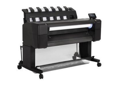 HP Designjet T930 - Impresora de gran formato (HP-GL/2, HP-RTL, TIFF, URF, 2400 x 1200 DPI, Cian, Gris, Magenta, Negro mate, Foto negro, Amarillo, A0 (841 x 1189 mm), 3 x 22 x 3 x 3, Inyección de tinta térmica)