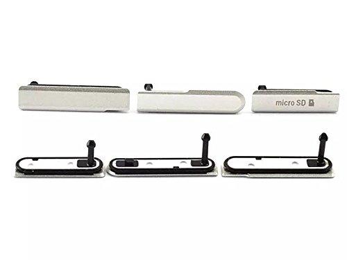 Goliton 1PCS Micro SD SIM + porta USB di ricarica copertura antipolvere Plug per Sony Xperia Z1 mini Z1 Compact