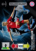 Champions League Adrenalyn XL 2012/2013 Thomas Muller 12/13 Limited Edition