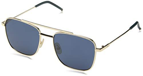 Fendi Herren FF M0008/S KU 000 55 Sonnenbrille, Rose Gold Blue