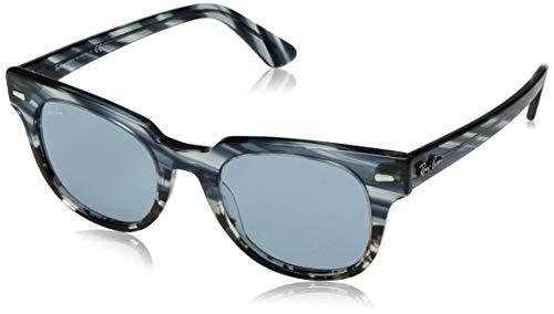 Ray-Ban Unisex-Erwachsene 0RB2168 Sonnenbrille, Blau (Blue Gradient Grey Striped), 49