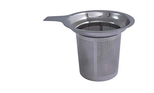 Metaltex 253835010 Tee-Sieb, Edelstahl Finum Tea Brewing Basket