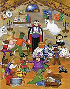 Halloween Party Countdown Kalender (Gedichte Halloween Lustige)