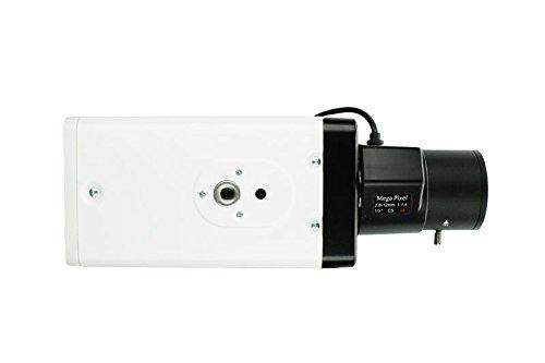 LUPUSCAM LE 102HD HDTV Kamera, Boxkamera mit 1080p Auflösung und Varioobjektivgewinde, HDCVI, BNC-Anschluss, inkl. 12V Netzteil (ohne Objektiv) 1080p Full Hdtv