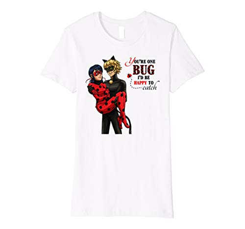 Miraculous Valentine's Day: Cute Cartoon Graphic T Shirt (Gut, Kid Witze Für Halloween)