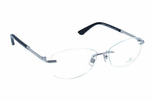 Swarovski - GILA SK5166, Rechteckig, Metall, Damenbrillen, PALLADIUM(016 P), 55/16/135