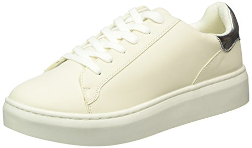 Another-Pair-of-Shoes-TiaE1-Scarpe-da-Ginnastica-Basse-Donna-Bianco-Off-White05-40-EU