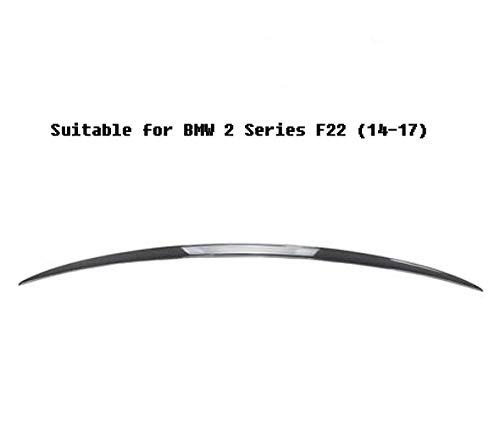 AniFM Echt Carbon Heckspoiler für 2014-17 BMW 2er F22 (3 Styles),C