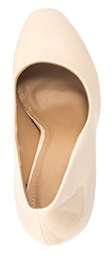 Elara bequeme Pumps | classico di Stilettos | High Heels Beige Fashion
