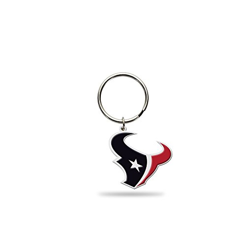 Rico Industries NFL Houston Texans Flexible Team Logo Keychain