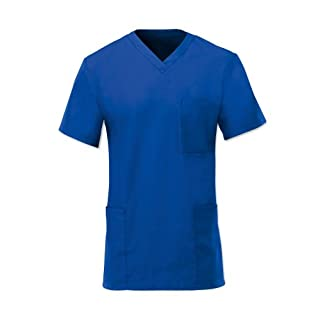 Alexandra Workwear Unisex Scrub Tunic Royal Blue XL