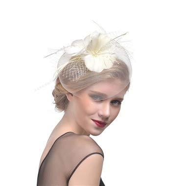�te Weiß Rot Schwarz Net Hochzeit Hüte Braut Gesicht Schleier Perlen Braut Hüte Champagner Frauen Schleier Mesh Headwear Hut Bowler Hüte ()