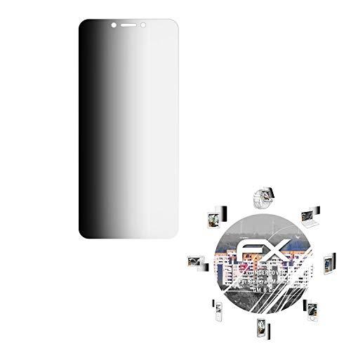 atFolix Blickschutzfilter kompatibel mit General-Mobile GM 8 Go Blickschutzfolie, 4-Wege Sichtschutz FX Schutzfolie