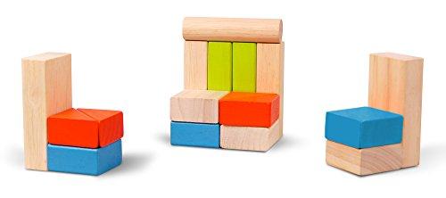 Imagen principal de Plan Toys - 5535 - Bloques Plan Toys 24m+ 50 uds