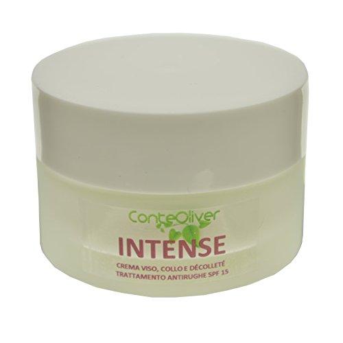 INTENSE 50 ml - crema antirughe per la pelle dopo i 50 anni SPF15, con olio di rosa mosqueta