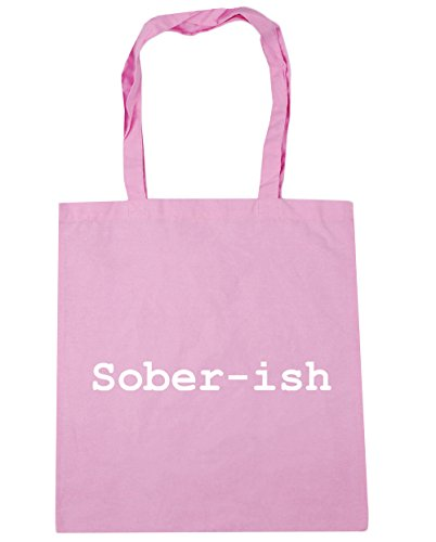 HippoWarehouse ,  Damen Strandtasche Gr. Einheitsgröße, Classic Pink Rose Pink Depression Glass