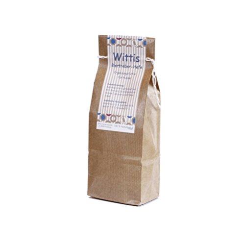 Wittis Supplement Biertreber-Hefe, BT-Hefe pur 250g, Futterergänzungsmittel für Hunde